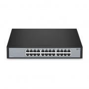 S1900-24T, 24-Port Gigabit Ethernet Unmanaged Switch, Metal, Fanless, Desktop/Rackmount