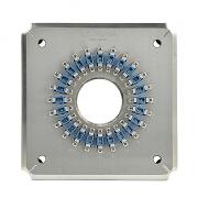 Pulido fijación/soporte para LC/UPC 24(EX LC/UPC-20) conectores (LC/UPC-24 plantilla de conector)