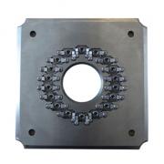 Pulido fijación/soporte para FC/APC 18 conectores (FC/APC-18 plantilla de conector)