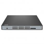S3900-24T4S-R 24ポート ギガビットイーサネット スタック可能なフルマネージドL2+スイッチ(4 x 10Gb SFP+ポート付き)
