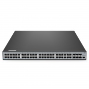 S3900-48T6S-R 48ポート ギガビットイーサネット スタック可能なフルマネージドL2+スイッチ(6 x 10Gb SFP+ポート付き)
