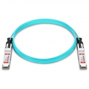 20m (66ft) Generic Compatible 200G QSFP256 Active Optical Cable