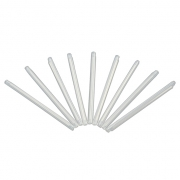 1.2x40mm Fiber Optic Splice Protection Sleeve-Single Fiber, 100pcs/pkg