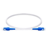 Duplex Singlemode 9/125 OS2, FRP Strength Member, LSZH Indoor FTTH Fiber Patch Cable
