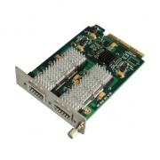 Customized 1 Channel WDM Transponder OEO 3R Repeater, 2 XFP/SFP/SFP+ Ports