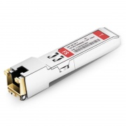 Alcatel-Lucent iSFP-GIG-T Compatible 10/100/1000BASE-T SFP Copper RJ-45 100m Transceiver Module