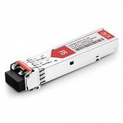 Módulo Transceptor SFP Mini-GBIC LC Gigabit 1000BASE-CWDM - Compatible Con Allied Telesis AT-SPZX80/1590 - 80km - SMF - DOM