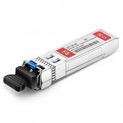 Avaya AA1419083-E5 Compatible 100BASE-BX-D BiDi SFP 1550nm-TX/1310nm-RX 10km DOM LC SMF Transceiver Module