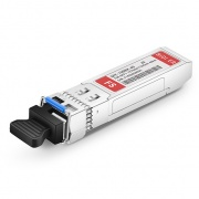 Módulo transceptor BiDi SFP+ 10GE-BX23-40 Compatible 10GBASE-BX 1270nm-TX/1330nm-RX 40km DOM LC SMF, compatible con Juniper Networks EX-SFP-10GE-BX23-40