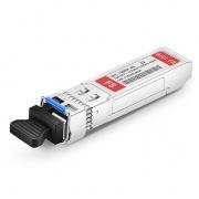 Extreme Networks 10GB-BX40-U対応互換 10GBASE-BX40-U BiDi SFP+モジュール(1270nm-TX/1330nm-RX 40km DOM)