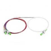 1X2 FC/APC FBT Splitter Single Mode Dual Window 0.9mm Fiber with Loose Tube