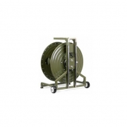 Portable Field Deployable Tactical Fiber Optic Cable Reel