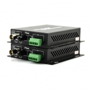 1 Channel Video & 1 Bi-Directional Data & Ethernet Optic Video Multiplexer