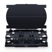 24 Fibers Fusion Splice Tray, Plastic, 0.72