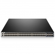 S5850-48S6Q L3 Managed Ethernet-Switch, 48 10Gb SFP+-Ports, 6 40Gb QSFP+ Uplinks