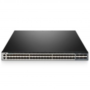 S5850-48S2Q4C, Switch Ethernet administrable capa 3, 48 puertos SFP+ 10Gb, 2 QSFP+ 40G y 4 enlaces ascendentes QSFP28 100G