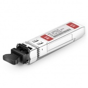 Dual-Rate 1000BASE-SX and 10GBASE-SR SFP+ 850nm 300m DOM LC MMF Transceiver Module for FS Switches