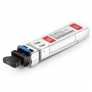 Dual-Rate 1000BASE-LX and 10GBASE-LR SFP+ 1310nm 10km DOM LC SMF Transceiver Module for FS Switches