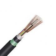 2-96 Fibres Double-Armoured Double-Jacket, Stranded Loose Tube, Steel Wire Strength, Waterproof Outdoor Cable GYTA53