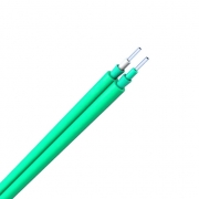Zipcord Multimode 50/125 OM3, Plenum, Corning Fiber, Indoor Tight-Buffered Interconnect Fiber Optical Cable