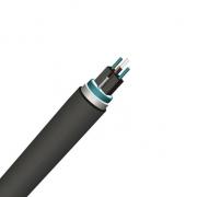 2 fibras monomodo blindaje sencillo elemento de refuerzo metálico PE FTTH cable canal-GJFDC