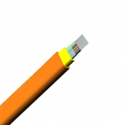 8 Fibers Multimode 62.5/125 OM1, LSZH, Indoor Ribbon Fiber Optical Cable GJFDBV