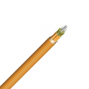 4 Fibres Multimode 62.5/125 OM1, LSZH, Indoor Tight-Buffered Breakout Fibre Optical Cable
