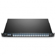 40 Channels C21-C60, with Monitor Port, 3.0dB Typical IL, LC/UPC, Dual Fiber DWDM Mux Demux, FMU 1U Rack Mount