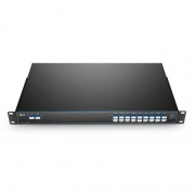 18 Channels 1270-1610nm, with Monitor Port, LC/UPC, Dual Fiber CWDM Mux Demux, 1U Rack Mount