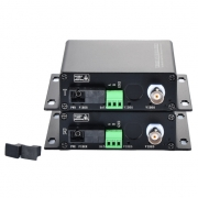 1 Channel HD-TVI over Optical Fiber Transmitter and Receiver Set
