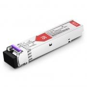 NETGEAR Compatible 100BASE-BX BiDi SFP 1490nm-TX/1310nm-RX 20km DOM Transceiver Module