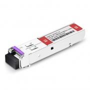 3Gb/s MSA BiDi SFP 1490nm-TX/1550nm-RX 10km Video Pathological Patterns Transceiver Module for SD/HD/3G-SDI