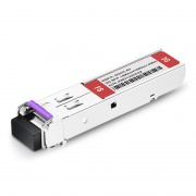 3Gb/s MSA BiDi SFP 1490nm-TX/1550nm-RX 40km Video Pathological Patterns Transceiver Module for SD/HD/3G-SDI