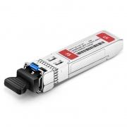 HW eSFP-GE-LH40-SM1310 Compatible 1000BASE-LH40 SFP 1310nm 40km DOM LC SMF Transceiver Module