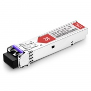Brocade E1MG-CWDM80-1490 Compatible 1000BASE-CWDM SFP 1490nm 80km DOM LC SMF Transceiver Module