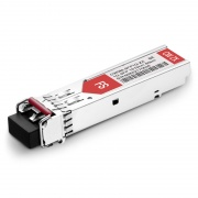 Brocade E1MG-CWDM80-1610 Compatible 1000BASE-CWDM SFP 1610nm 80km DOM Transceiver Module