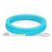 Cable/latiguillo/jumper de fibra óptica LC/UPC a SC/UPC 10m OM4 50/125 dúplex multimodo PVC 2.0mm