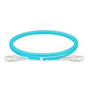 1m (3ft) SC UPC to SC UPC Duplex OM4 Multimode LSZH 2.0mm Fiber Optic Patch Cable