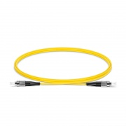 1m (3ft) FC UPC to FC UPC Simplex OS2 Single Mode PVC (OFNR) 2.0mm Fiber Optic Patch Cable