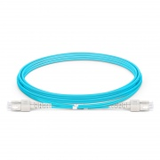SC-SC UPC Duplex OM4 Multimode Fibre Patch Lead 2.0mm OFNP 2m