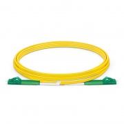 2m (7ft) Jarretière Optique LC APC vers LC APC Duplex OS2 Monomode PVC (OFNR) 2,0mm