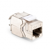 Cat6 RJ45 (8P8C) Shielded Toolless Keystone Jack