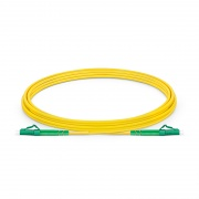 3m (10ft) LC APC to LC APC Simplex OS2 Single Mode PVC (OFNR) 2.0mm Fiber Optic Patch Cable