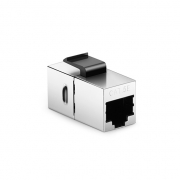 Module d'Insertion Keystone Coupleur Cat5e RJ45 (8P8C) Blindé