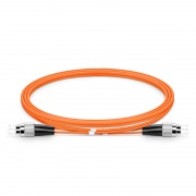 FC-FC UPC Duplex OM1 Multimode Fibre Patch Lead 2.0mm PVC (OFNR) 1m