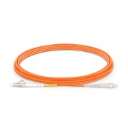 5m (16ft) LC UPC to SC UPC Simplex OM1 Multimode PVC (OFNR) 2.0mm Fibre Optic Patch Lead