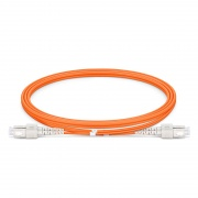 LWL-Patchkabel, 1m (3ft) SC UPC auf SC UPC Duplex OM1 Multimode PVC (OFNR) 2.0mm