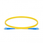 SC-SC UPC Simplex Single Mode Fibre Patch Lead 2.0mm LSZH 1m
