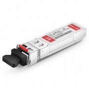 Brocade  10G-SFPP-BXD-60K Compatible 10GBASE-BX60-D BiDi SFP+ 1330nm-TX/1270nm-RX 60km DOM Transceiver Module