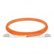 LC-LC UPC Duplex OM2 Multimode Fibre Patch Lead 2.0mm PVC (OFNR) 2m